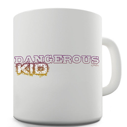 Dangerous Kid Novelty Mug