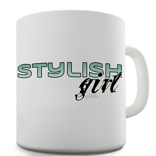 Stylish Girl Novelty Mug