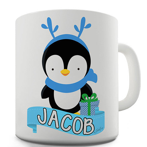 Baby Penguin Personalised Mug