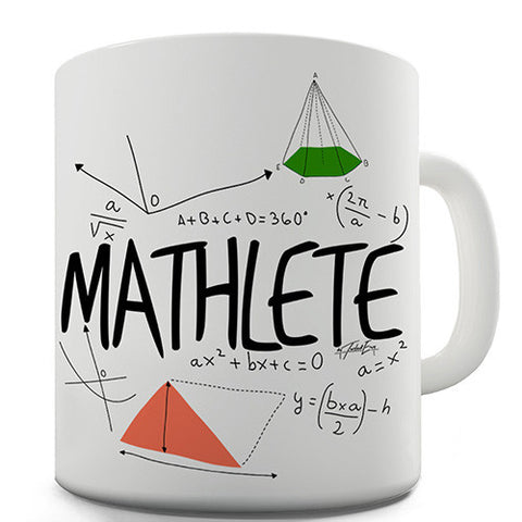 Mathlete Novelty Mug
