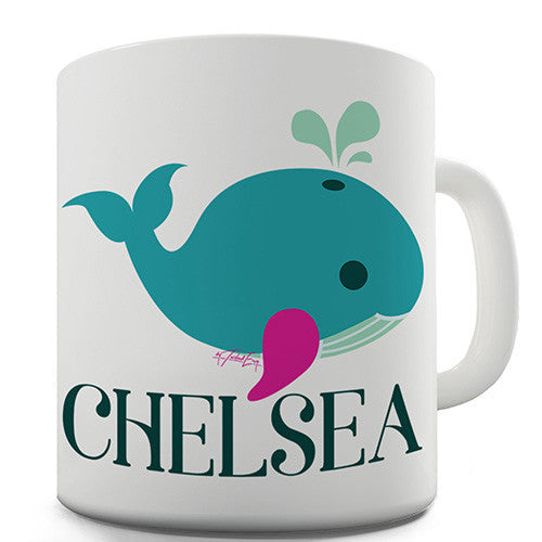 Cute Whale Personalised Mug