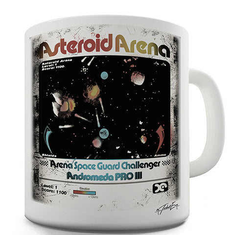 Asteroid Arena Novelty Mug