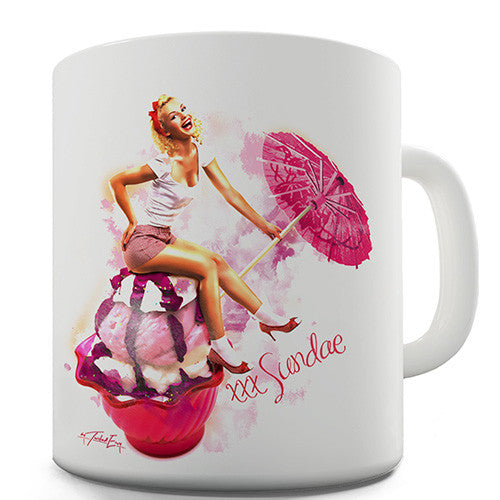Sundae Girl Novelty Mug
