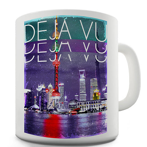 Deja Vu City Novelty Mug