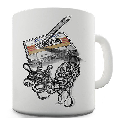 Old School Music Novelty Mug