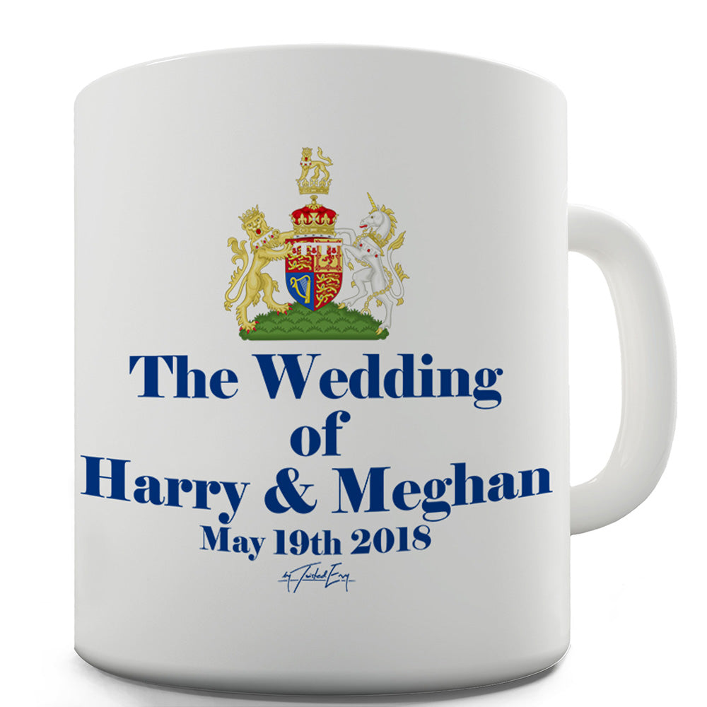 Royal Wedding Harry And Meghan Funny Mugs For Coworkers