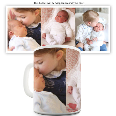 Royal Baby Prince Louis Arthur Charle Funny Mugs For Friends