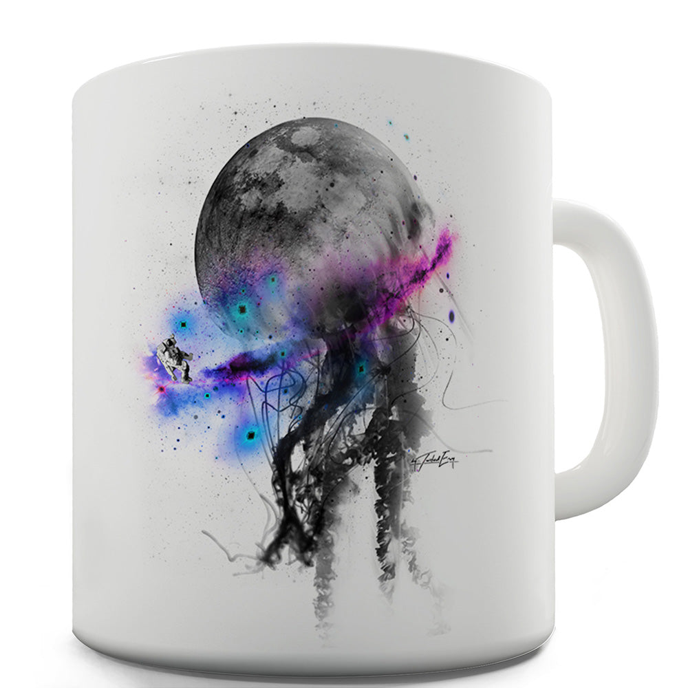 Space Octopus Funny Mugs For Men Rude