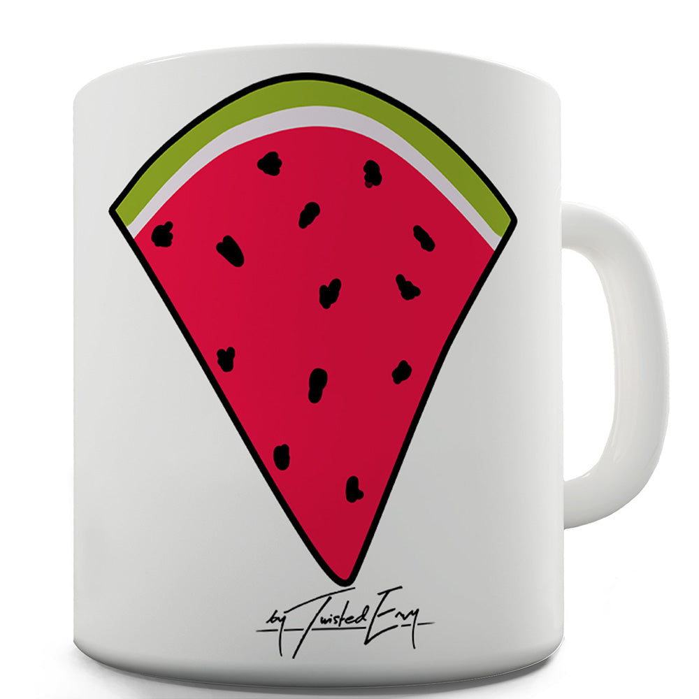 Watermelon Slice Pocket Funny Mugs For Men Rude