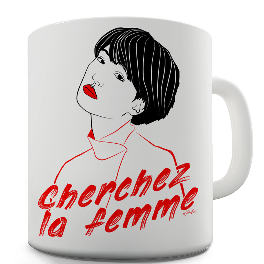 La Femme French Language Funny Mugs For Coworkers