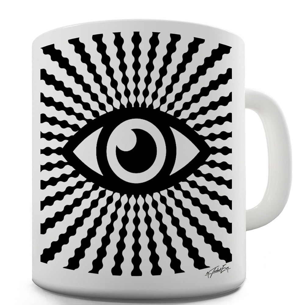 All Seeing Eye Funny Mugs For Work