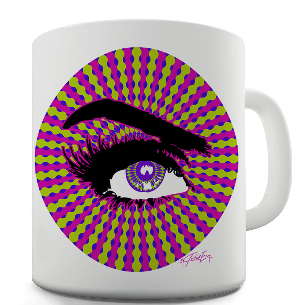Trippy Eye Funny Mug