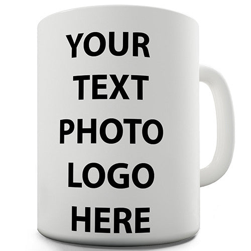 Any Colour, Text Or Photo Personalised Mug