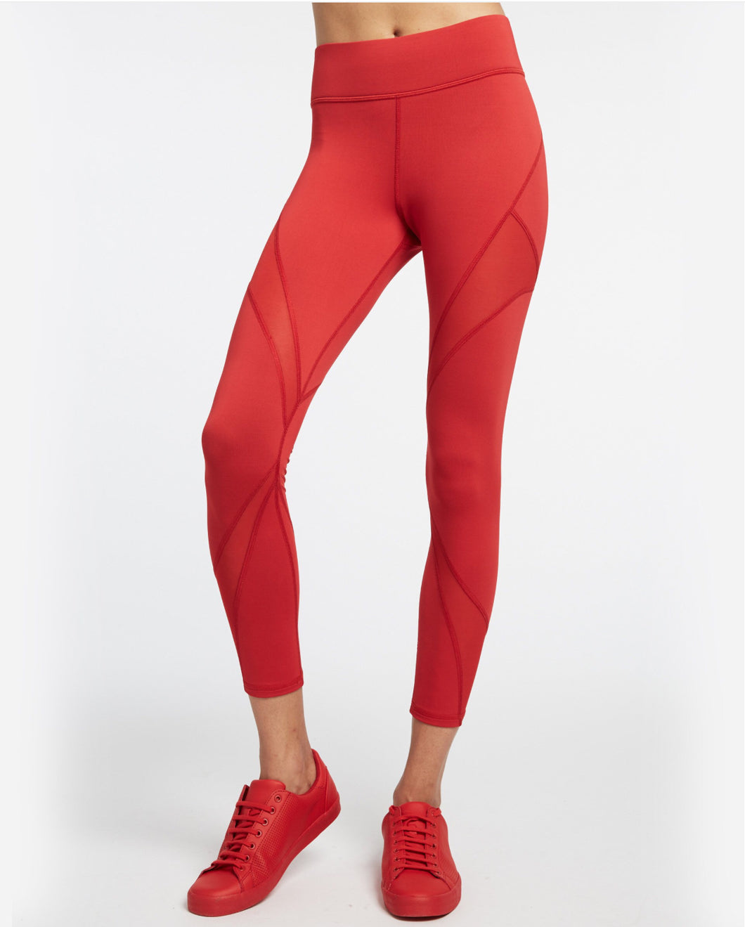 Inversion Legging-Fire Red