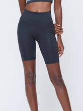 VOI - SEACELL CYCLE SHORTS IN BLACK HEATHER