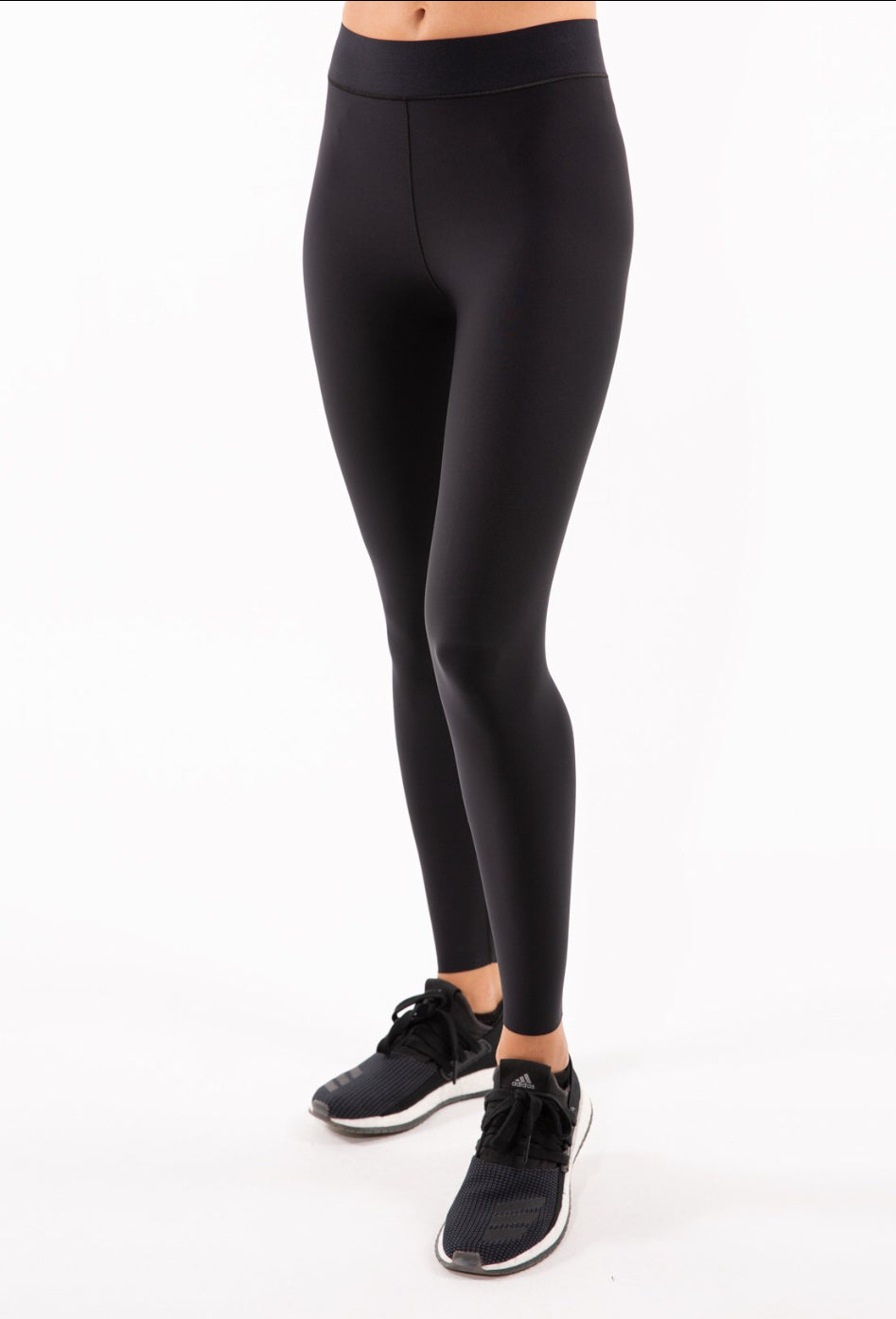 Ultra High Black Legging-Nero Nero