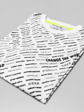 VOI - CHANGE THE WORLD TEE IN WHITE