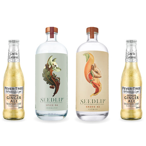 Seedlips Non Alcoholic Spirits Starter Kit - Father's Day Gifts 2020