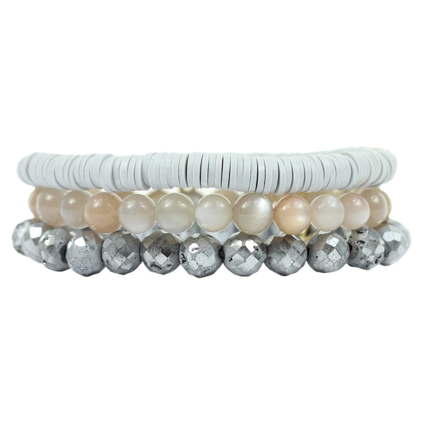 The Fiona Stretchy Bracelet Stack