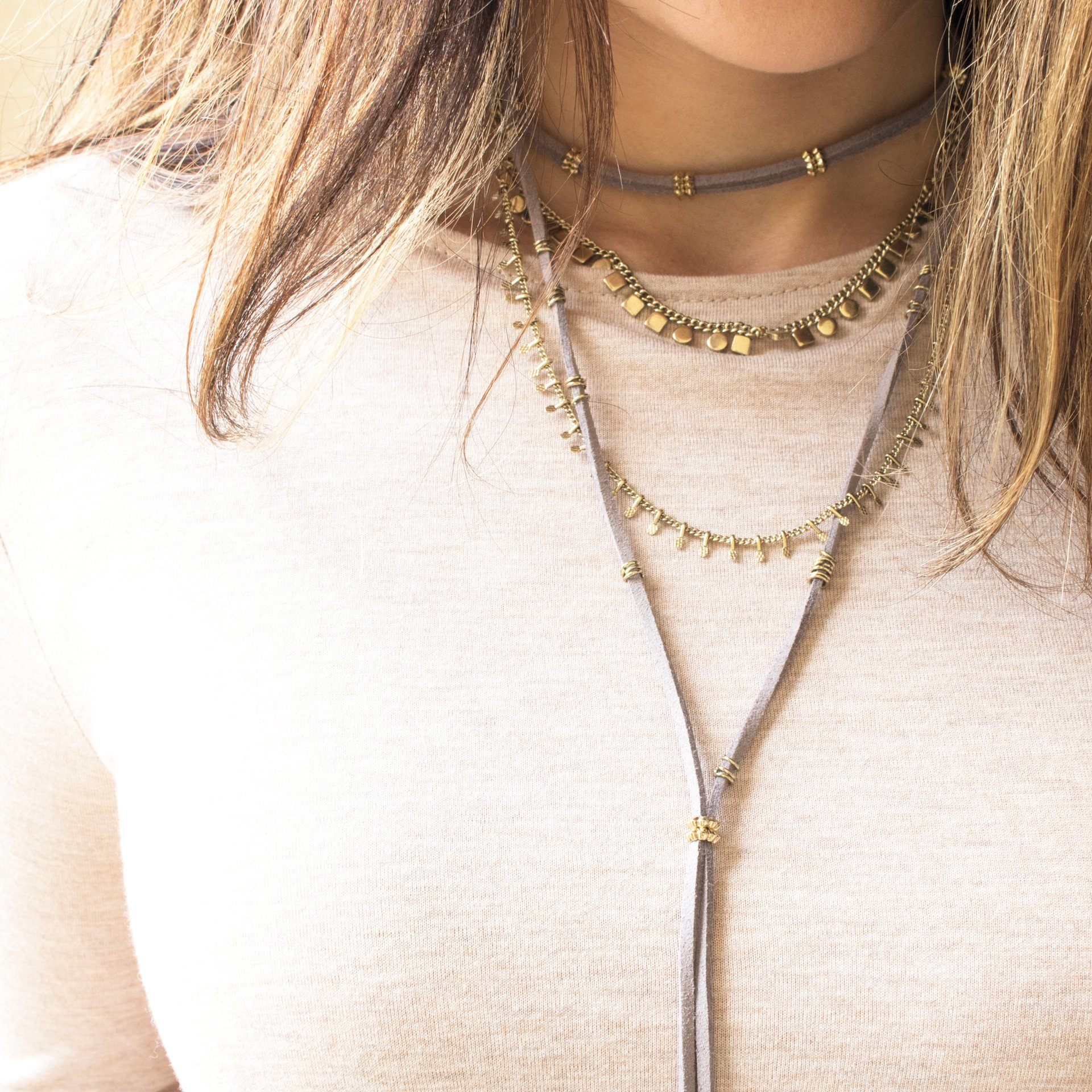 'Lo' Layered Statement Necklace - Arlo and Arrows