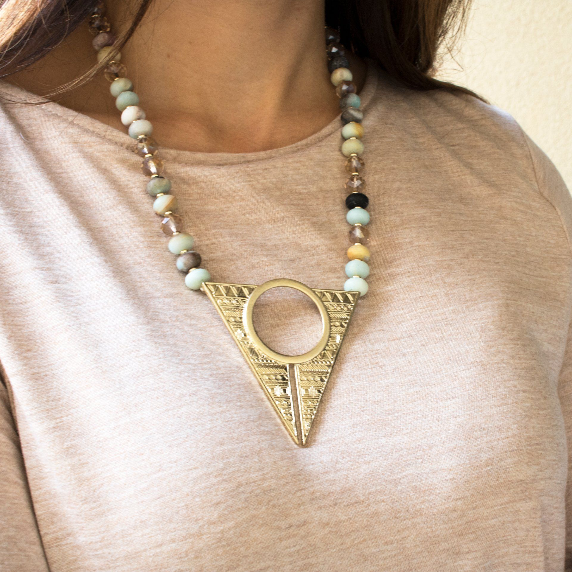 'Carina' Statement Necklace - Arlo and Arrows