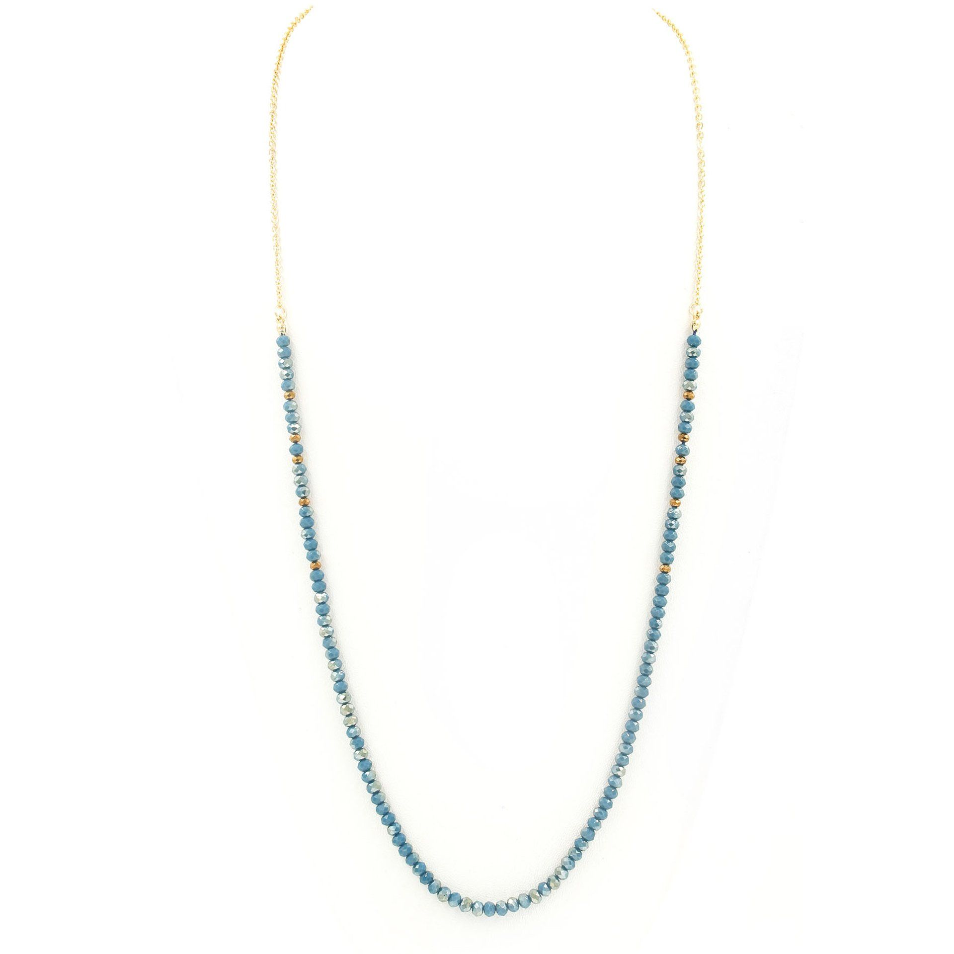 'Jasper I' Faceted Bead Necklace (3 Variations) - Arlo and Arrows