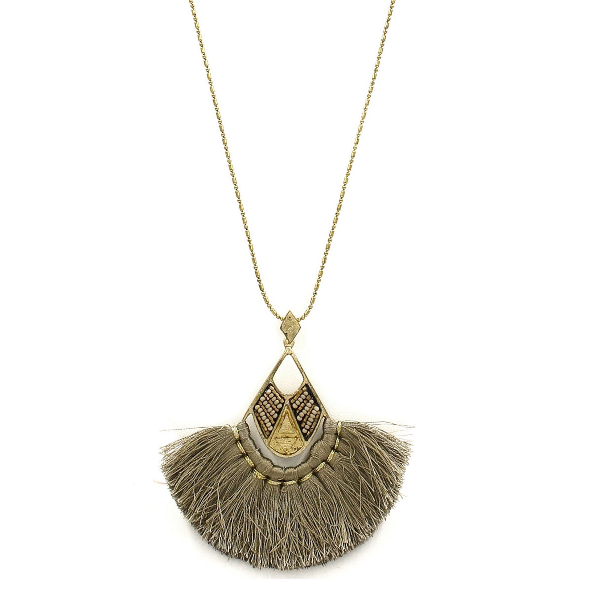 'Night Fever' Fringe Necklace - Arlo and Arrows