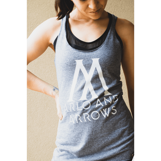 Arlo And Arrows Women's Racerback Workout Tank Top