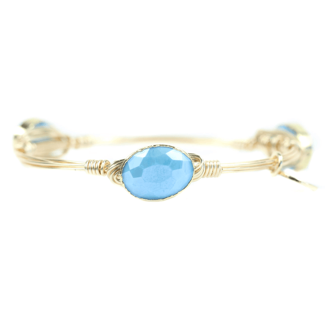 Blue Bangle Bracelet - Arlo And Arrows