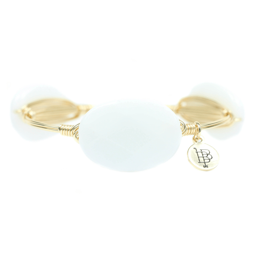 The Brennan Bangle Bracelet- Large - Arlo and Arrows