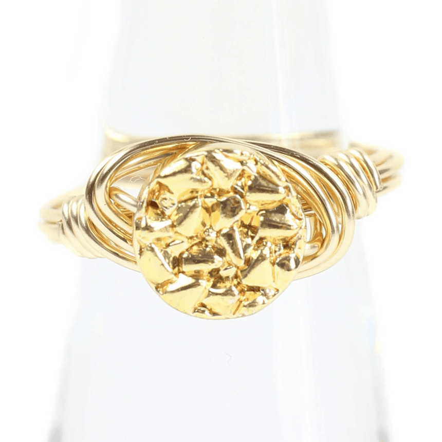 Bourbon And Boweties Gold Ring
