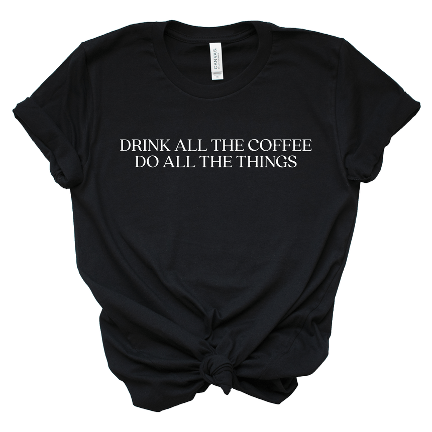Women's Coffee Graphic Shirt
