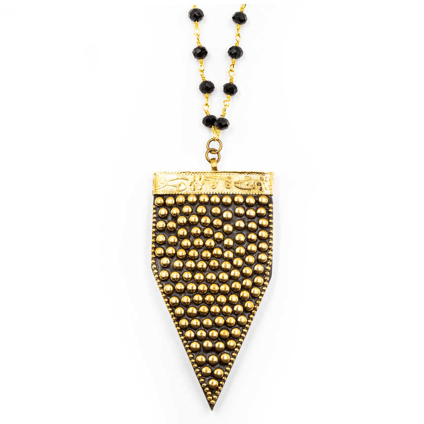Statement Arrow Pendant - Arlo and Arrows
