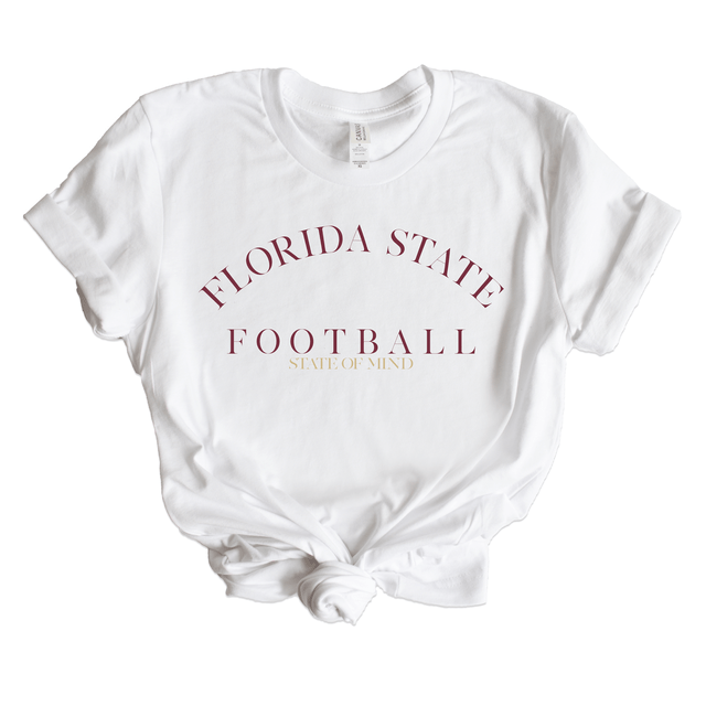 Women's Florida State Football State Of Mind Tee