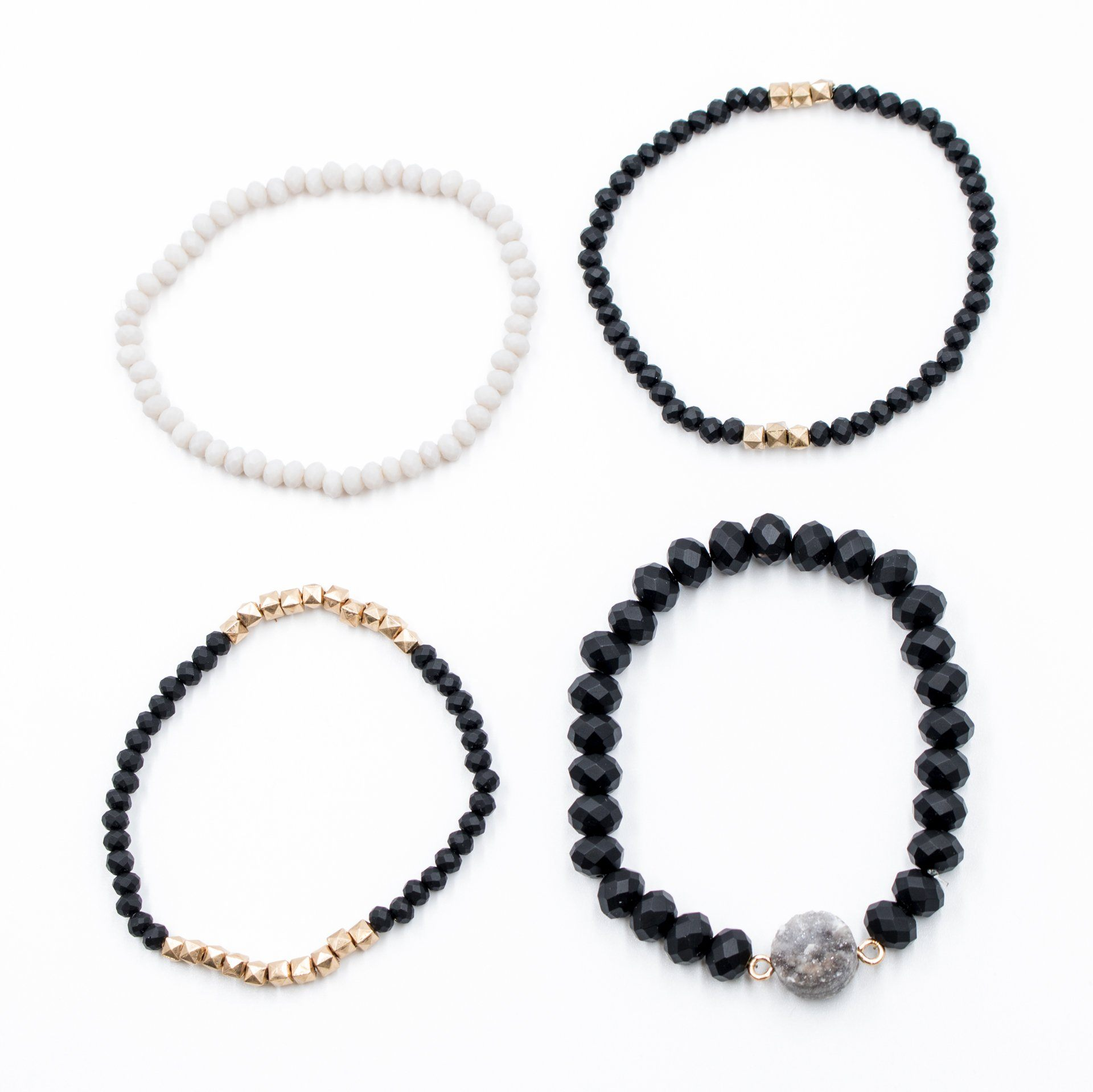 'Midnight Madness' Bracelet Set - Arlo and Arrows