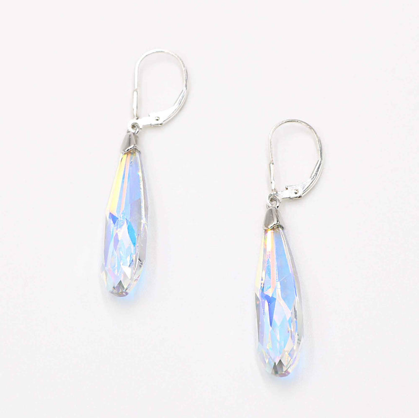 Swarovski Crystal Lever Earrings
