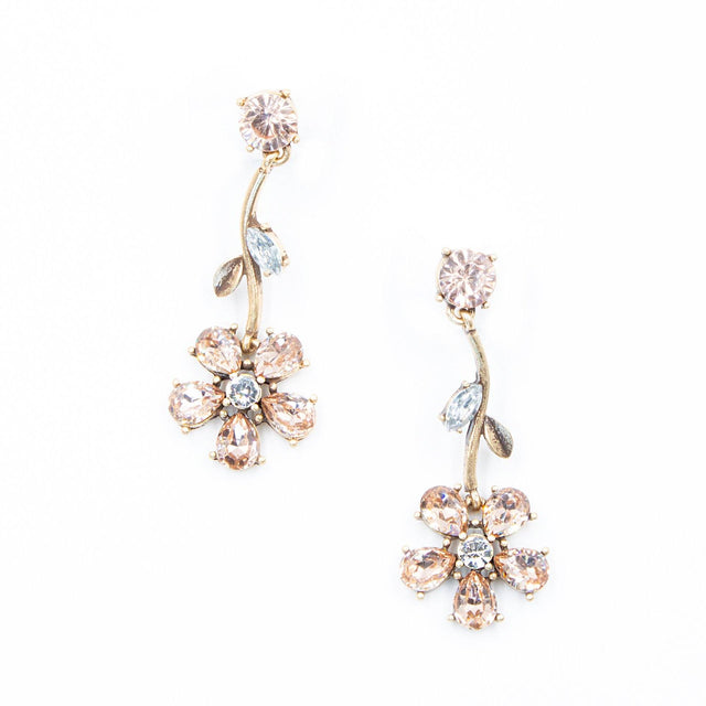 Floral Drop Earrings - Arlo and Arrows