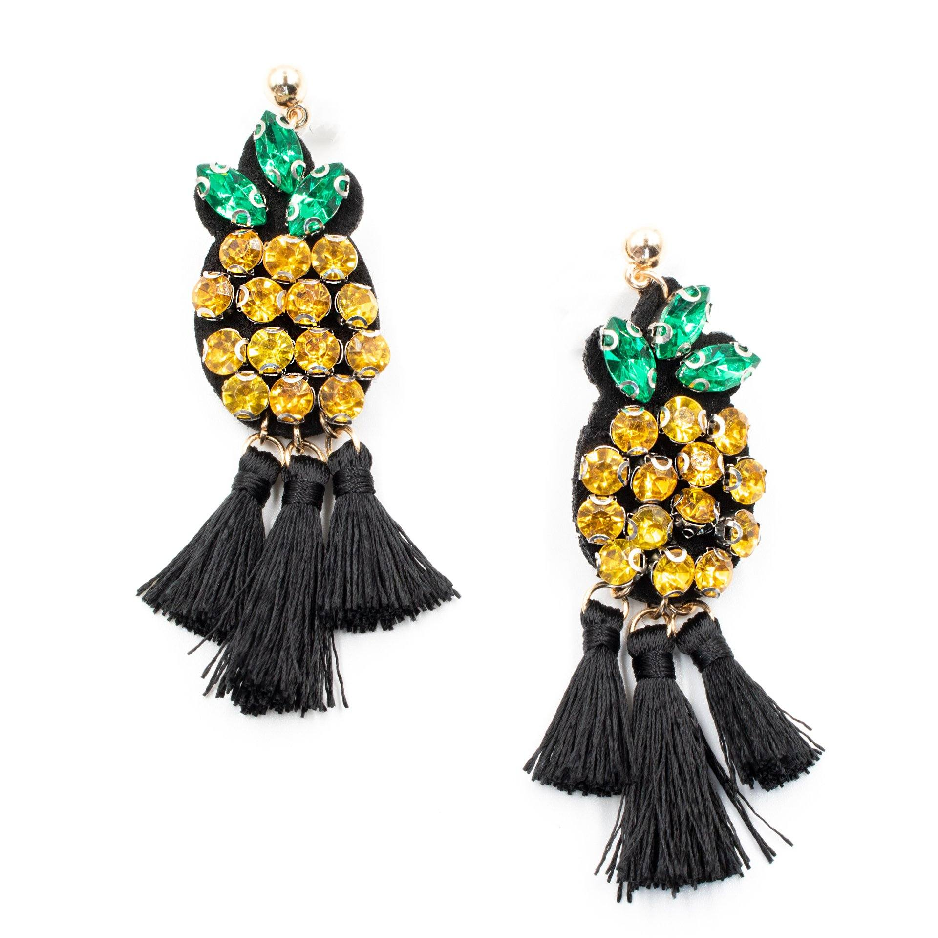 Love Me Some Pineapple Earrings - Arlo and Arrows