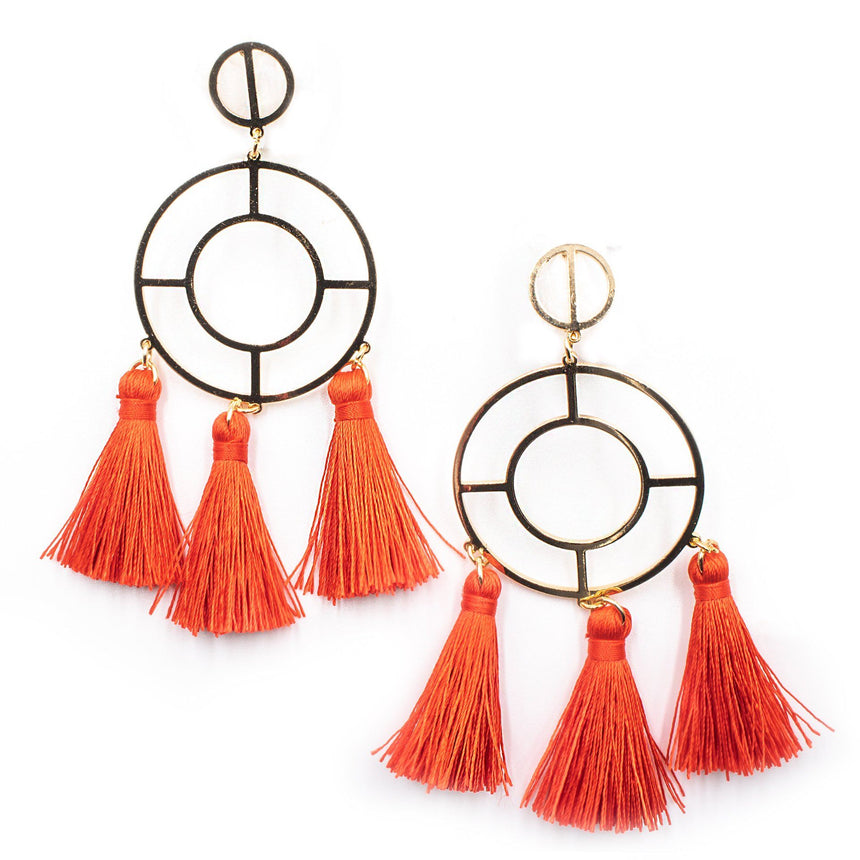 Not Your Baby Tassel Earrings (2 Colors)
