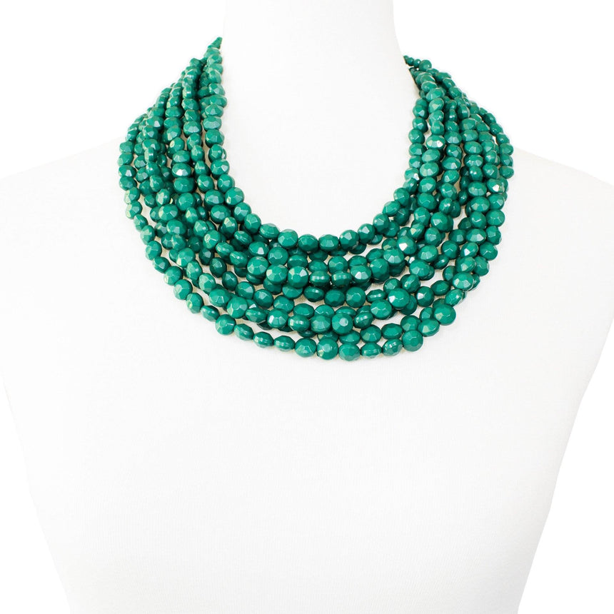 'Jade' Bib Necklace - Arlo and Arrows