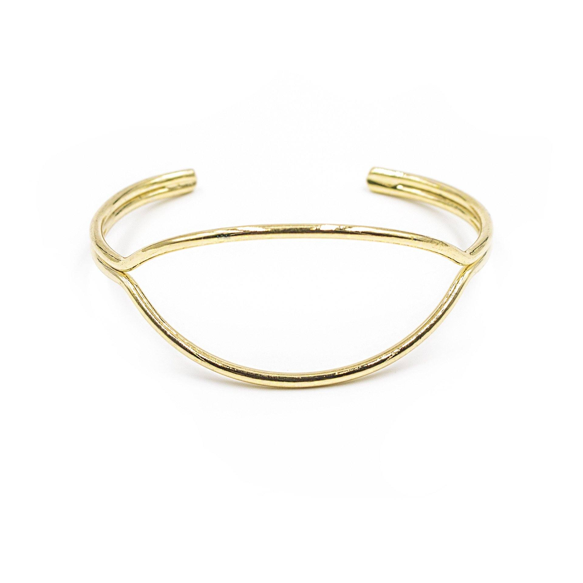'I'll Have A Double' Cuff Bracelet - Arlo and Arrows