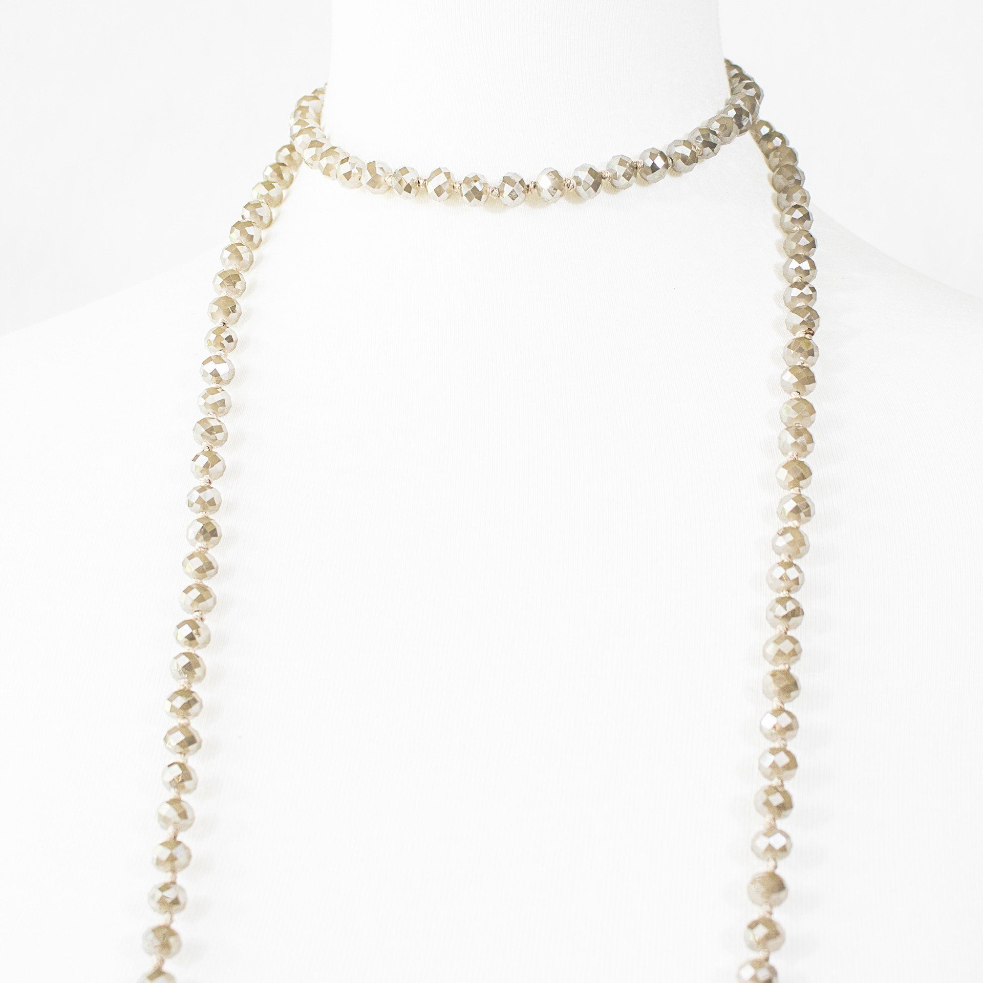 'Cadence' Layered Bead Necklace - Arlo and Arrows