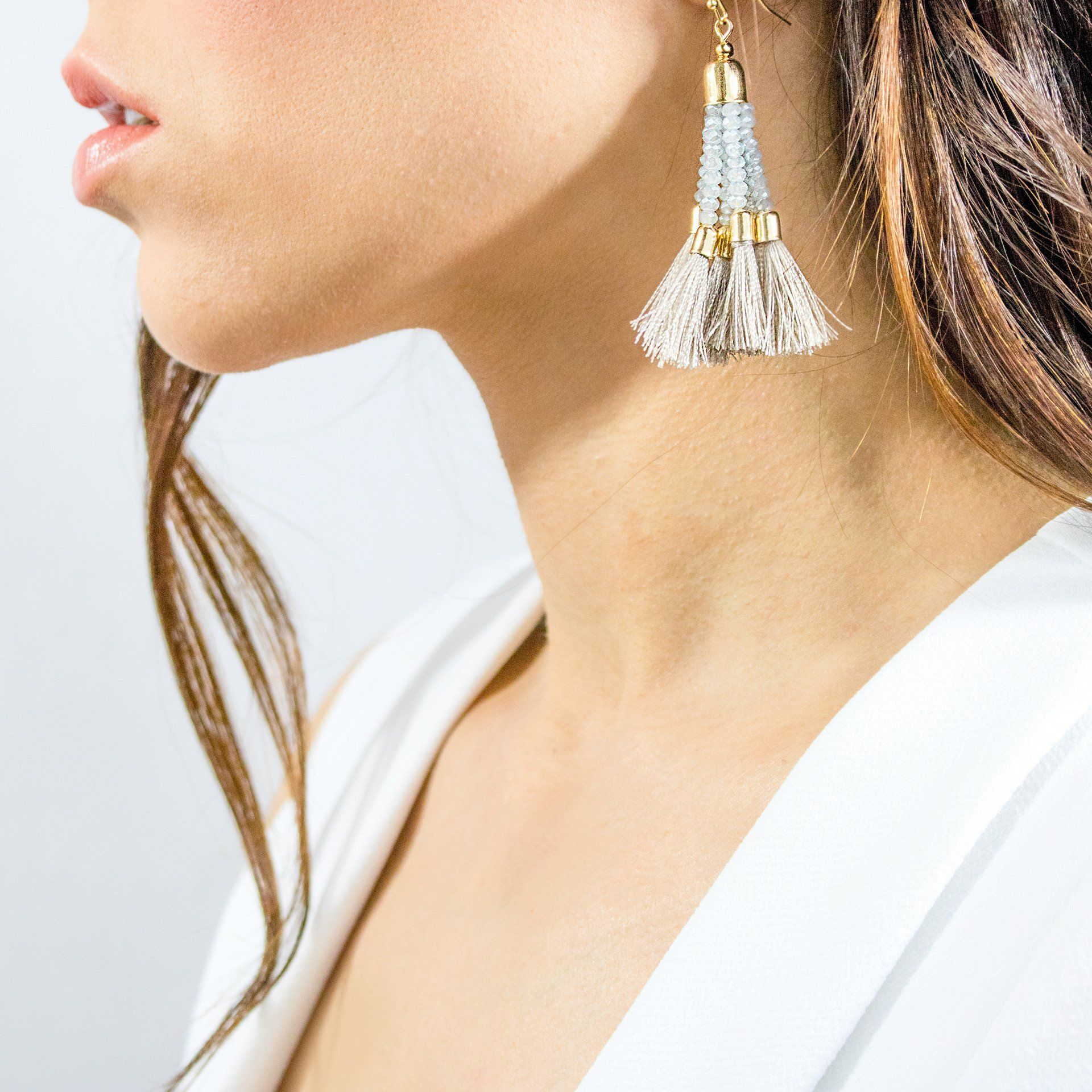 'Melanie' Tassel Earrings (2 Variations) - Arlo and Arrows
