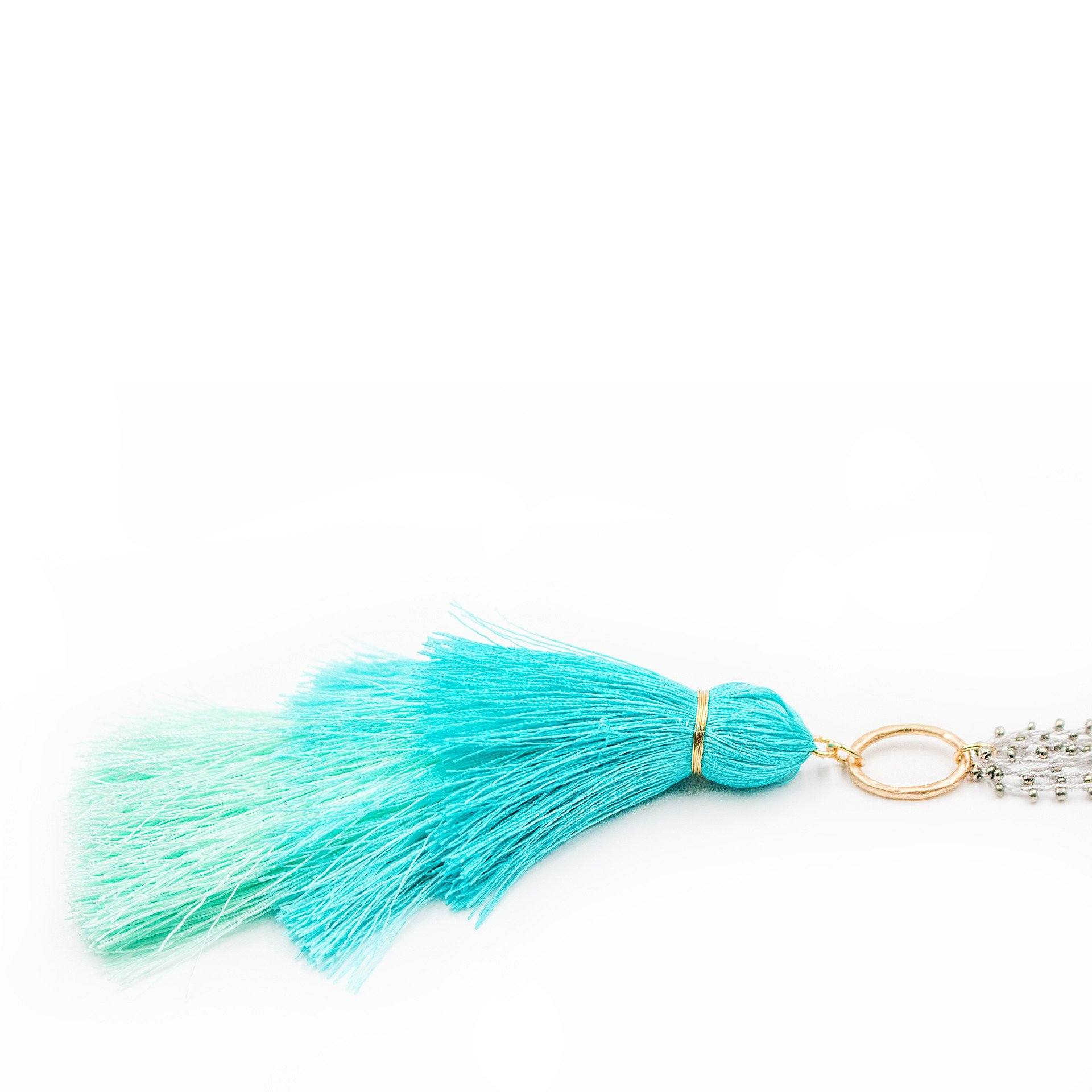 'Thalina' Tassel Necklace - Arlo and Arrows