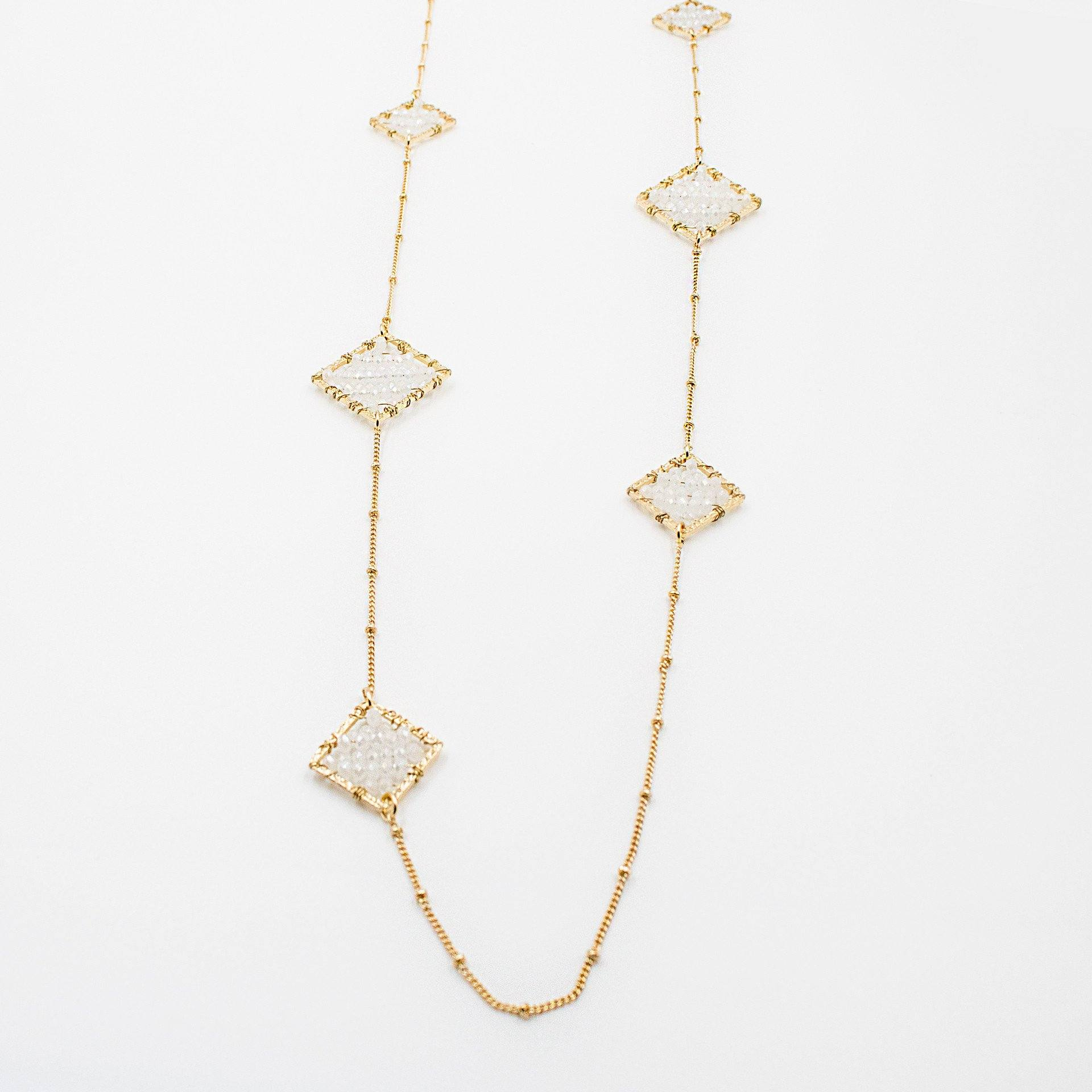 'Mara' Triangle Necklace - Arlo and Arrows