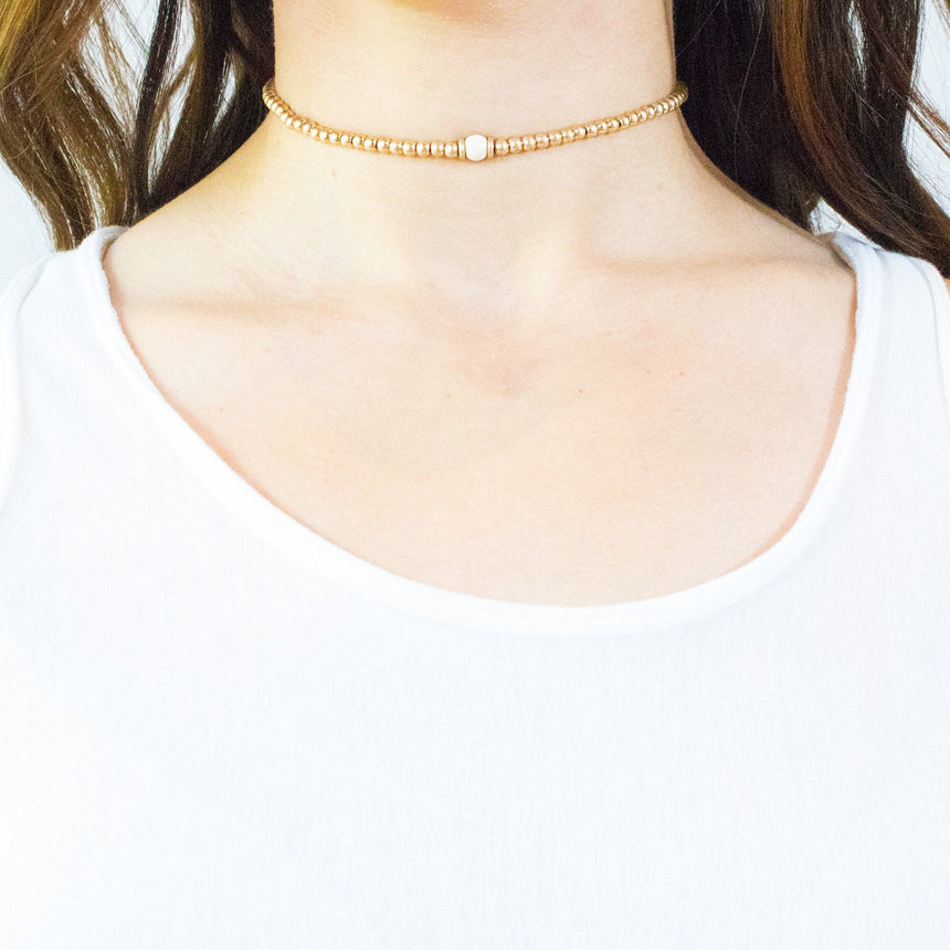 'Lei' Petite Choker Necklace (2 Variations) - Arlo and Arrows