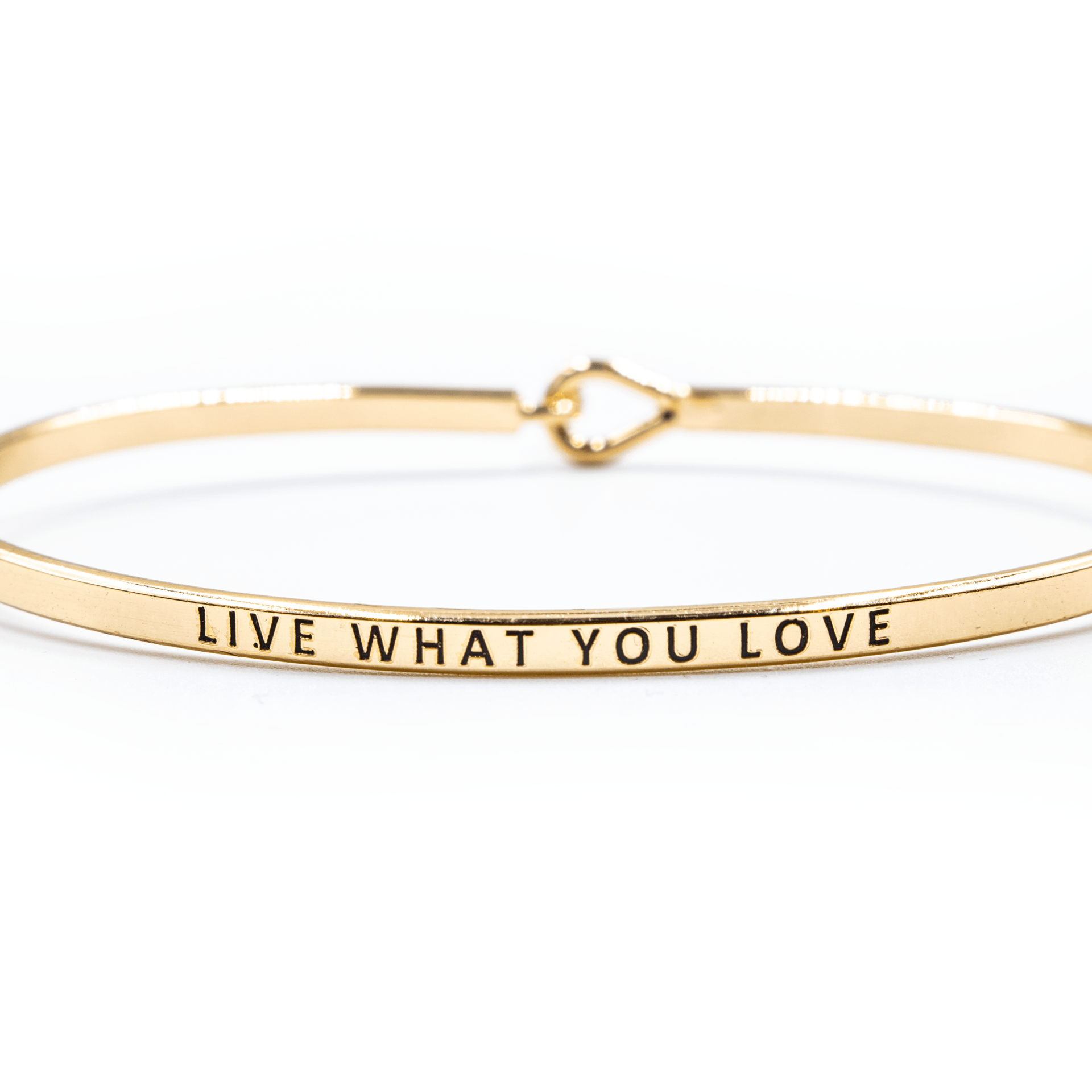 'Live What You Love' Bracelet - Arlo and Arrows