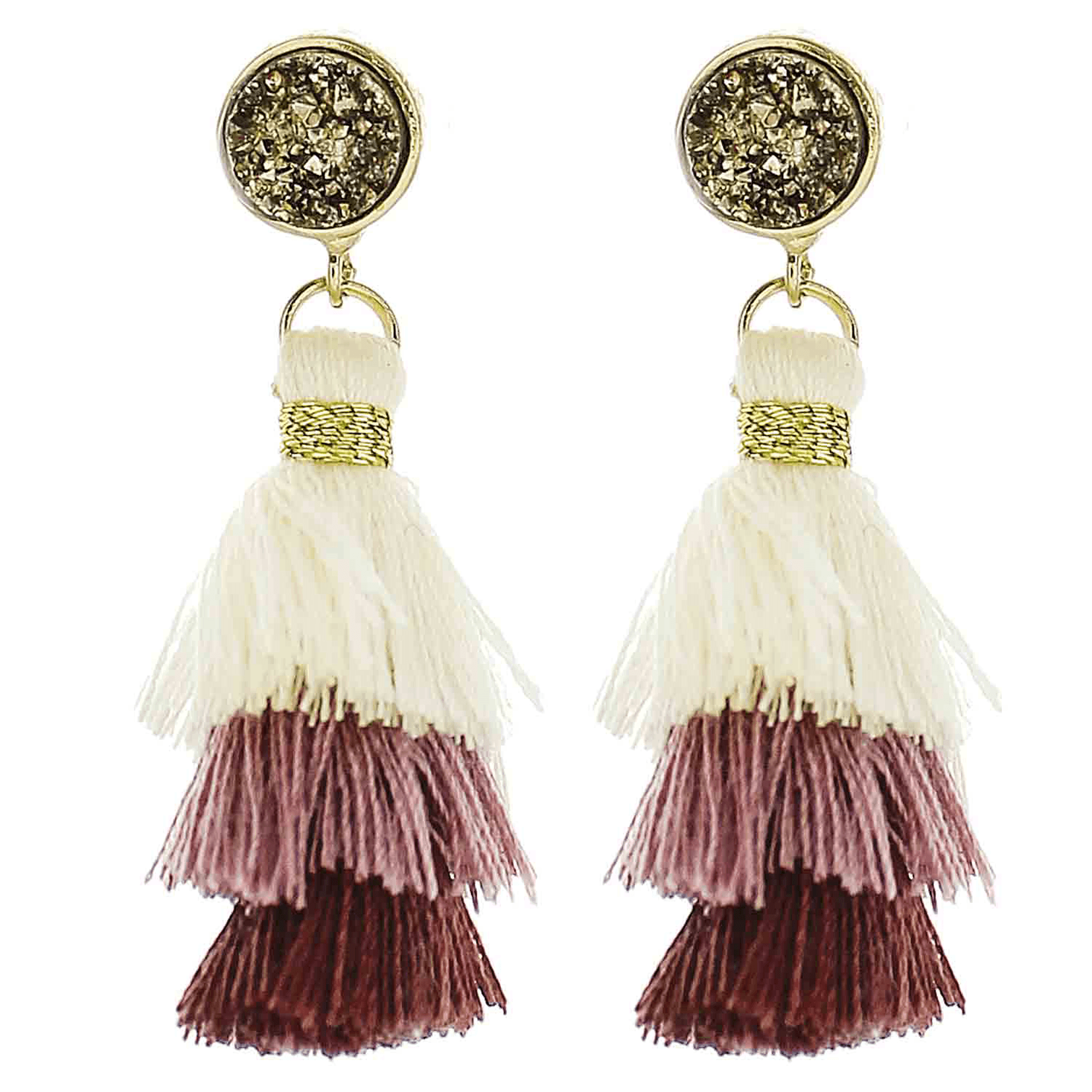 Little Girls Tassel Earrings