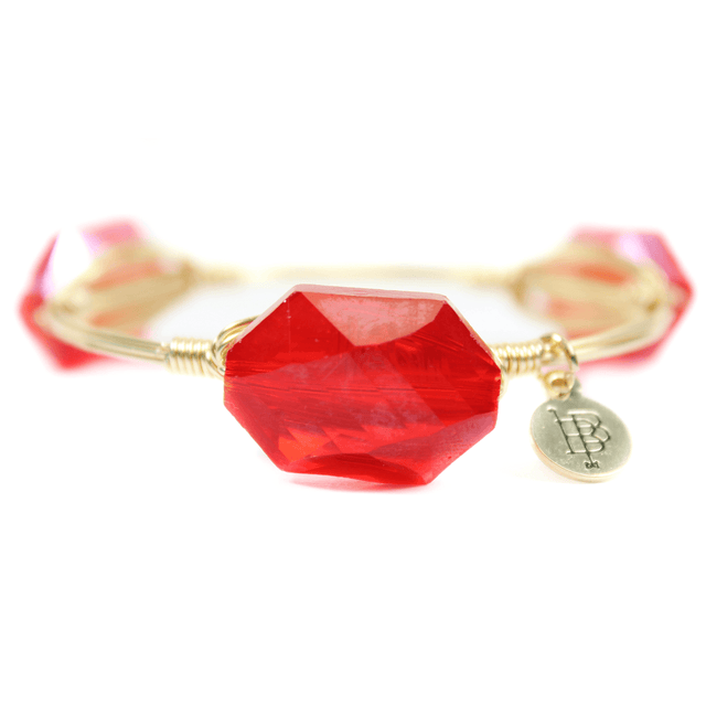 Unique Red Bracelet - Arlo And Arrows