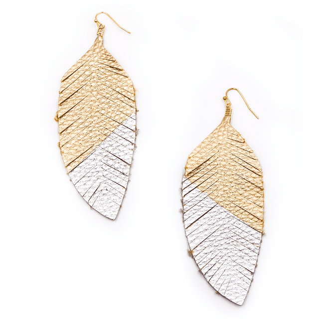 Florida State Feather Earrings